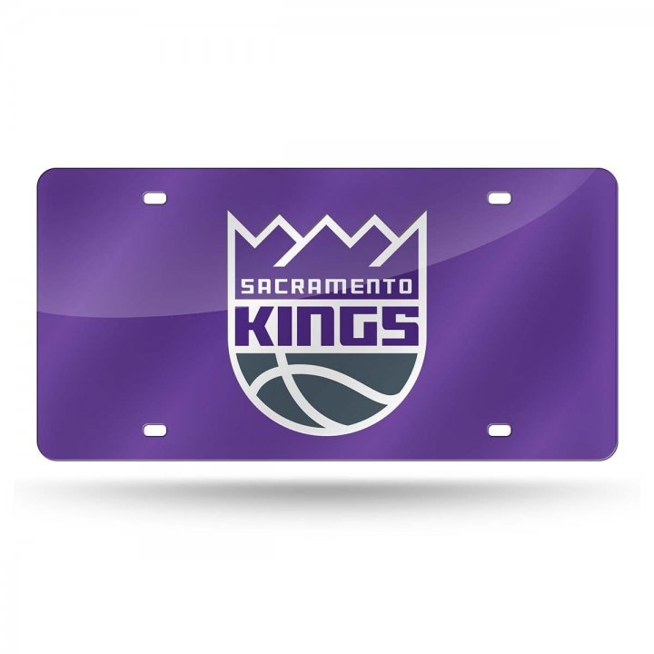 Sacramento Kings NBA Laser Cut License Plate Tag
