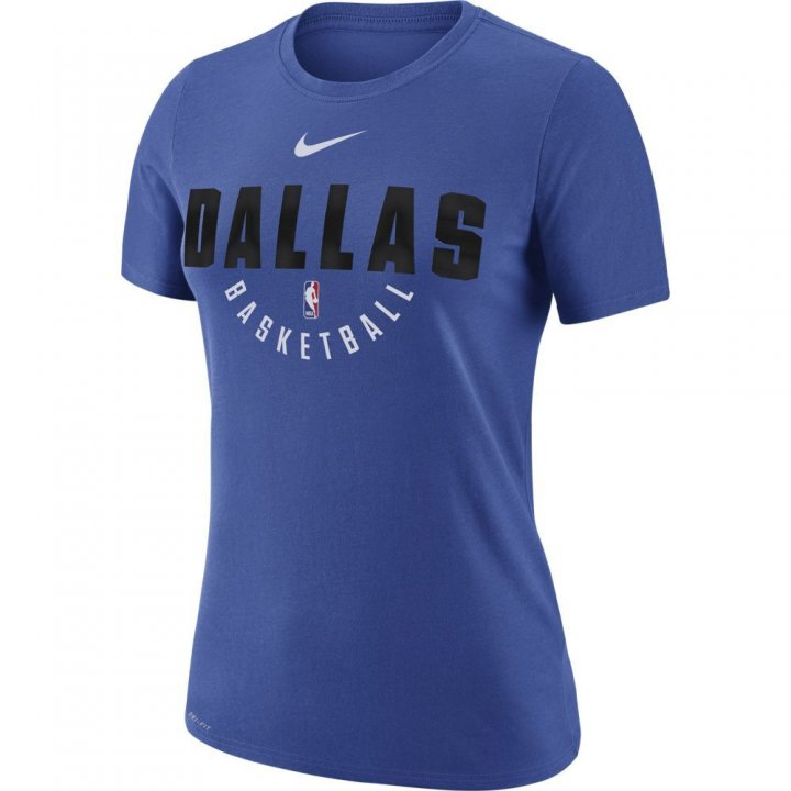 Dallas Mavericks NBA Womens Official Practice Tee (Royal)