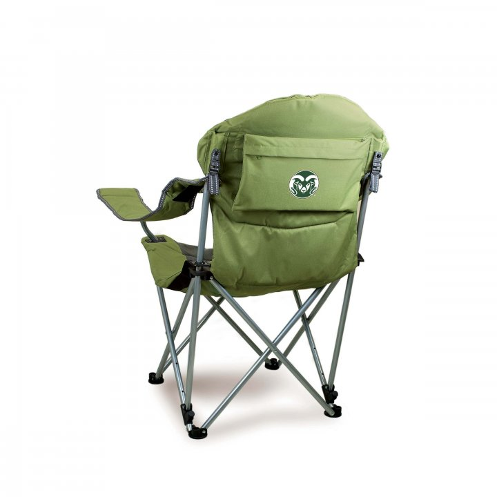 Colorado State Rams Reclining Camp Chair (Brown)