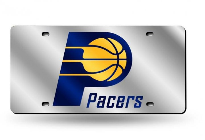 Indiana Pacers NBA Laser Cut Alternate License Plate Tag
