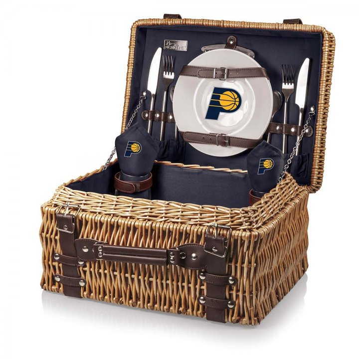 Indiana Pacers Champion Picnic Basket (Navy)