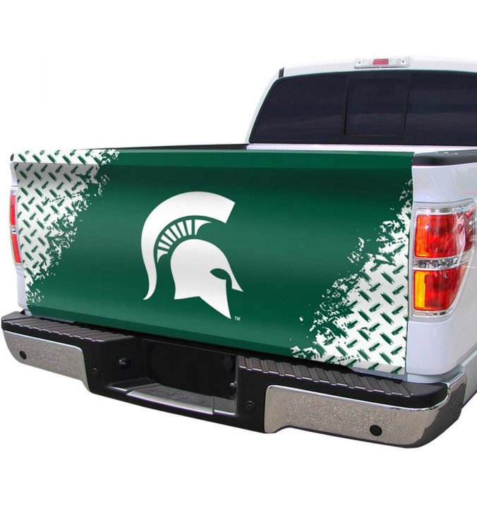 Michigan State Spartans Tailgate Cover