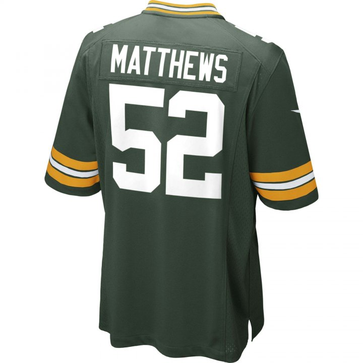 Clay Matthews Green Bay Packers Nike Game Jersey (Green)