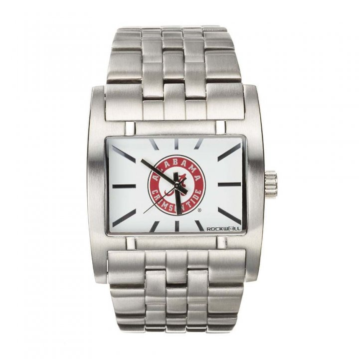Alabama Crimson Tide Apostle Watch (Silver)