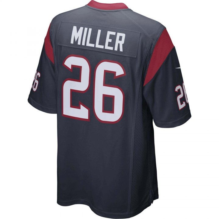 Lamar Miller Houston Texans Nike Game Jersey (Navy)