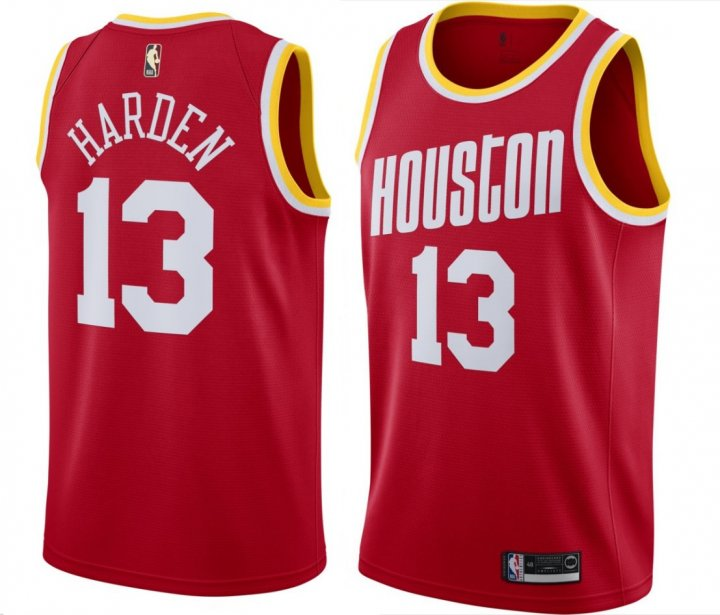 Outerstuff Youth Kids 13 James Harden Houston Rockets Jersey Red