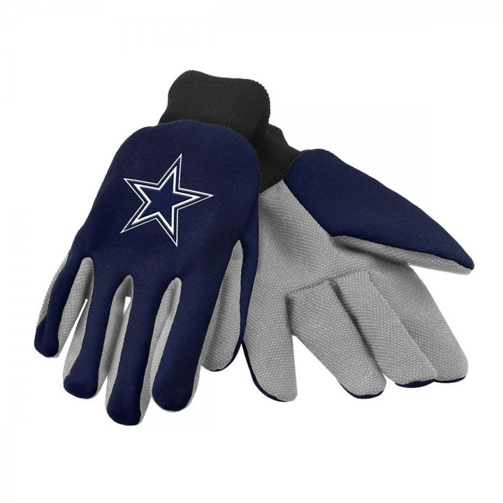 Dallas Cowboys Two Color Work Gloves