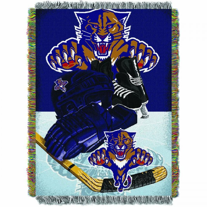 Florida Panthers Home Ice Advantage Throw