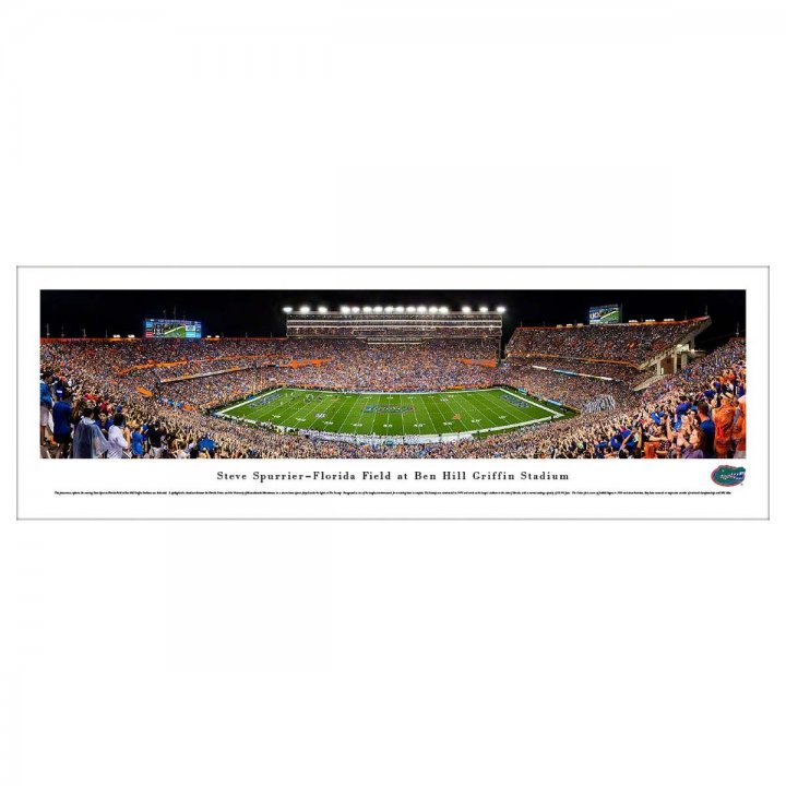 Florida Gators 50 Yard Line Unframed Panorama
