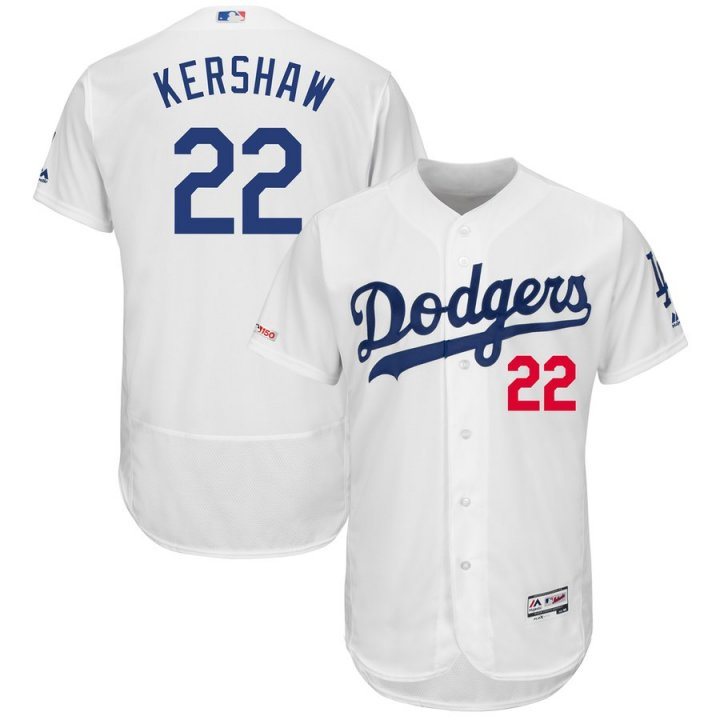 Majestic Athletic Clayton Kershaw Los Angeles Dodgers #22 Men