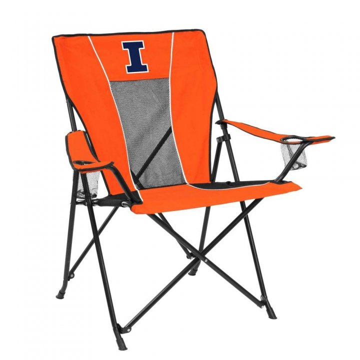Illinois Fighting Illini Game Time Chair