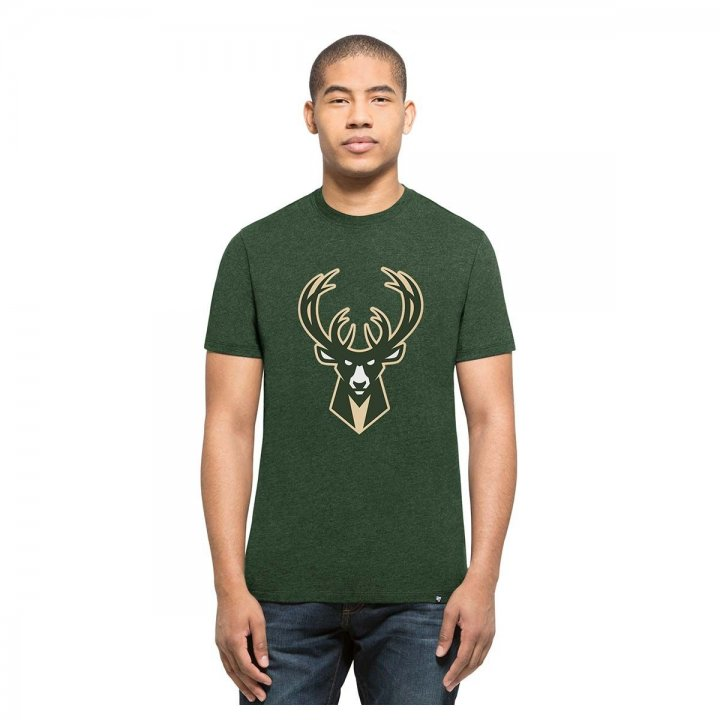 Milwaukee Bucks NBA Imprint Logo Club Tee (Green)