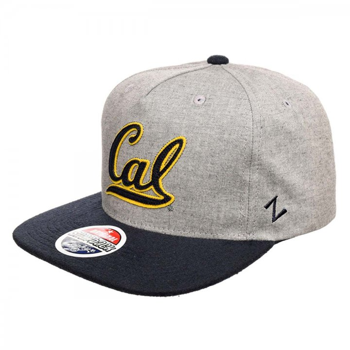 CAL Golden Bears Boulevard Snapback Hat (Gray)
