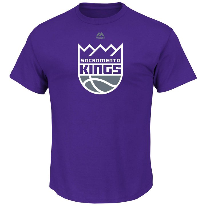 Sacramento Kings Logo T-Shirt (Purple)