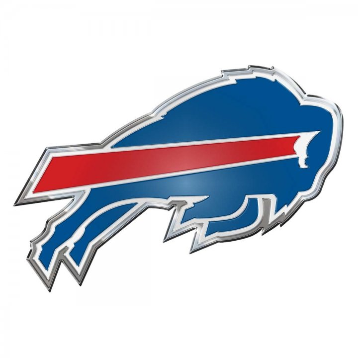 Buffalo Bills Color Emblem
