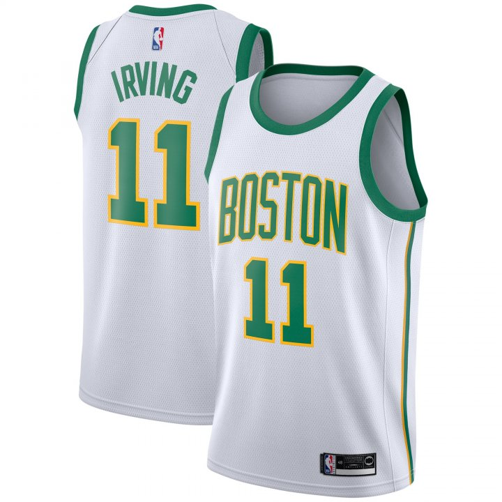 Outerstuff Youth 8-20 Boston Celtics #11 Kyrie Irving Jersey for Boys White