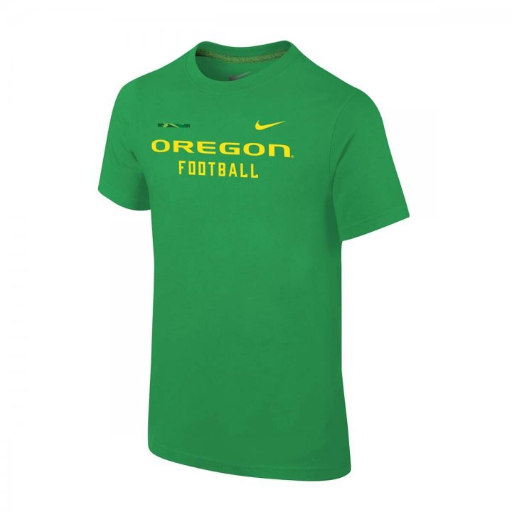 Oregon Ducks NCAA Youth Facility Tee (Green)
