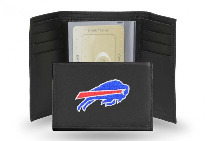 Buffalo Bills NFL Leather Wallet (Black)