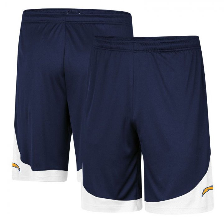 Los Angeles Chargers NFL Mens Spark Movement Shorts (Navy)