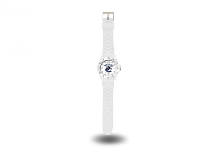 Vancouver Canucks NHL Cloud Watch (White)