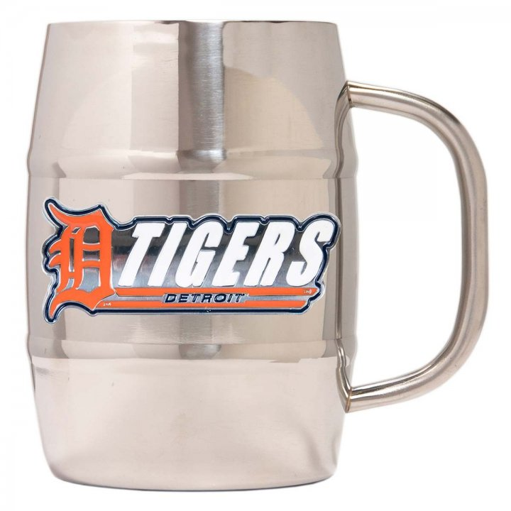 Detroit Tigers Detroit Tigers 32 oz Double Wall Stainless Steel Mug
