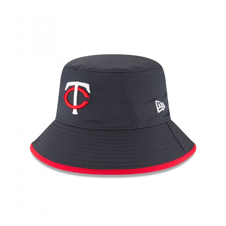 Minnesota Twins MLB 2018 Clubhouse Bucket Hat (Navy)