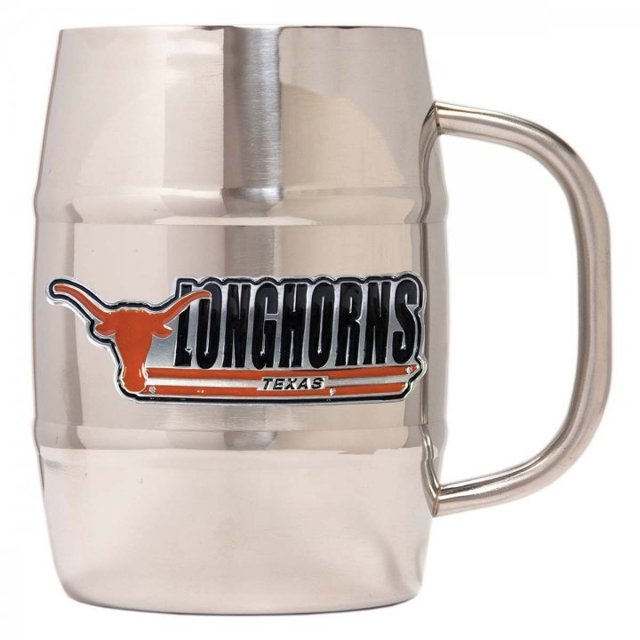 Texas Longhorns Texas Longhorns 32 oz Double Wall Stainless Steel Mug