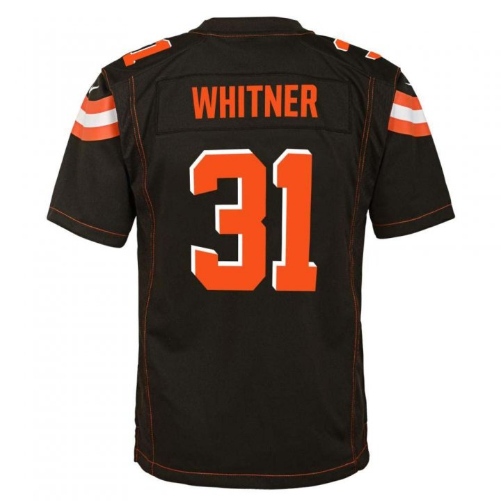 Donte Whitner Cleveland Browns Nike Youth Game Jersey (Brown)