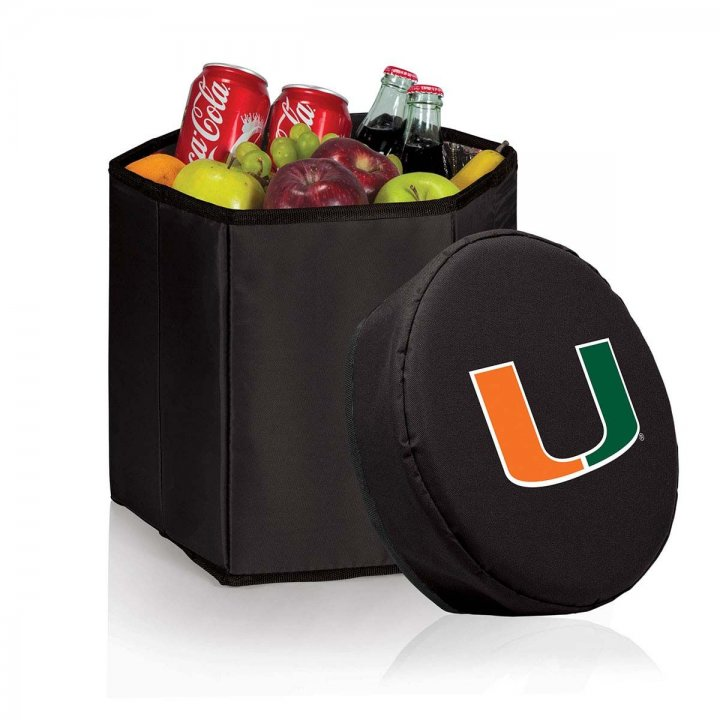 Miami Hurricanes Bongo Cooler (Black)