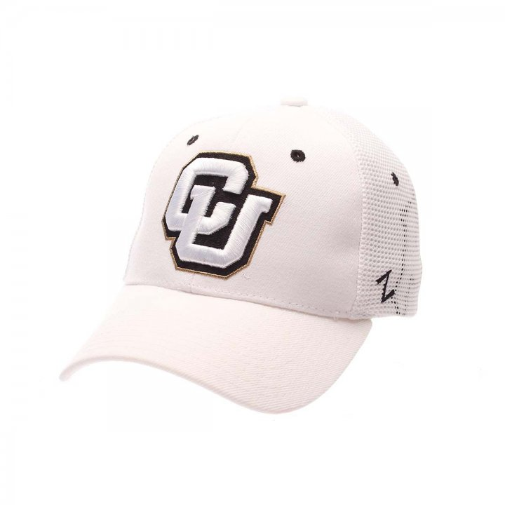 Colorado Buffaloes Zephyr NCAA Zh Flex Fit Hat (White)