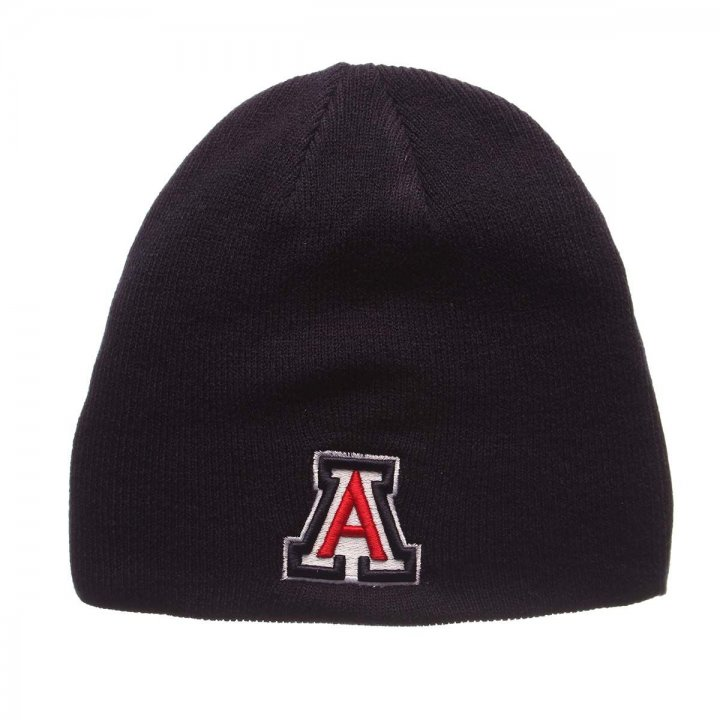 Arizona Wildcats Edge Knit Beanie (Navy)