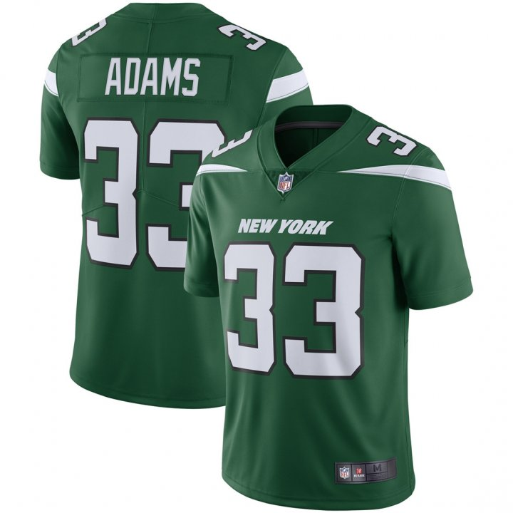 Franklin Sports Youth Kids 33 Jamal Adams New York Jets Jersey Green