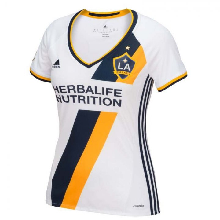 Los Angeles Galaxy MLS Womens Primary Replica Jersey (White)
