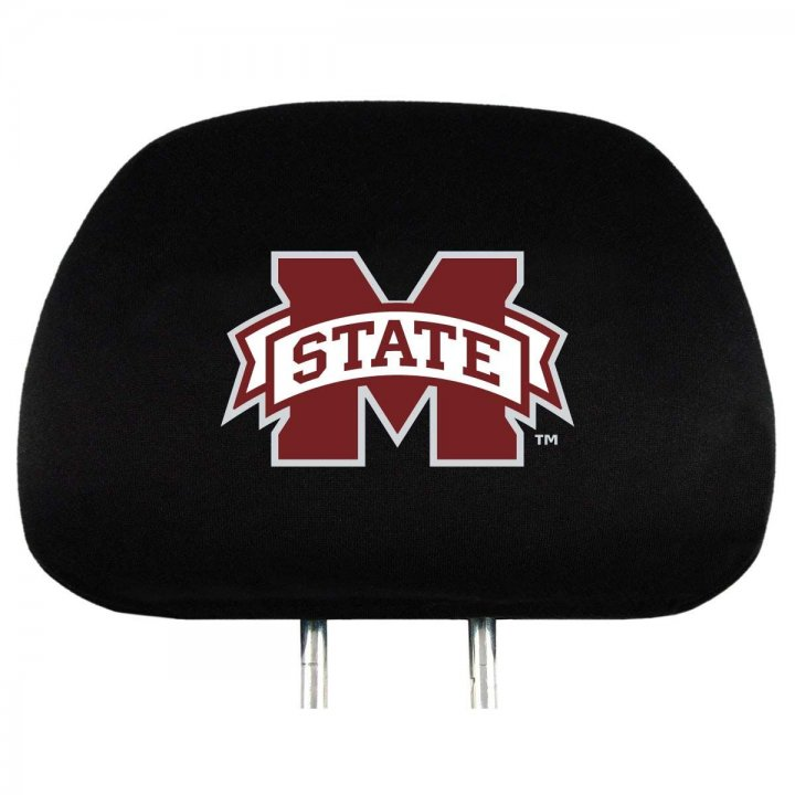 Mississippi State Bulldogs Headrest Cover
