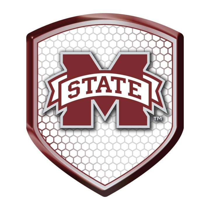 Mississippi State Bulldogs Shield Reflector