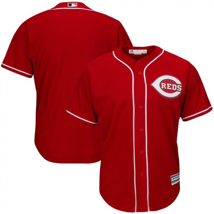 VF Cincinnati Reds MLB Mens Majestic Alternate Cool Base Replica Red Jersey Big & Tall Sizes