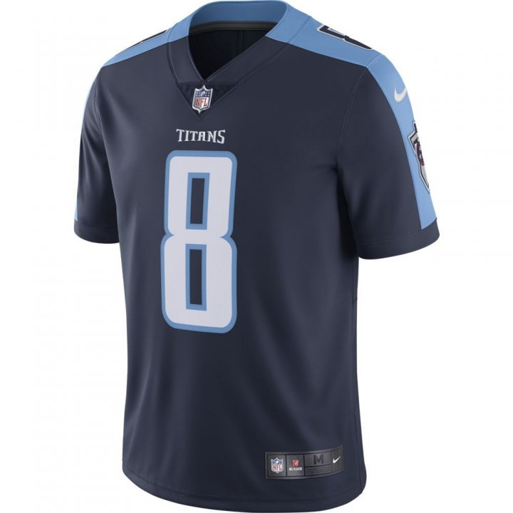 Marcus Mariota Tennessee Titans NFL Mens Nike Limited Jersey (Navy)