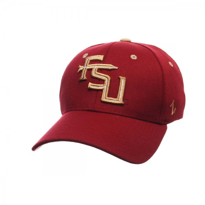 Florida State Seminoles Zephyr NCAA Zh Flex Fit Hat (Red)