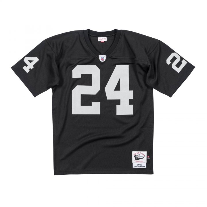 Charles Woodson 2002 Authentic #24 Jersey Oakland Raiders