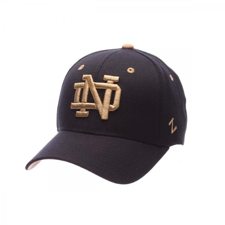 Notre Dame Fighting Irish Competitor Adjustable Hat (Navy)