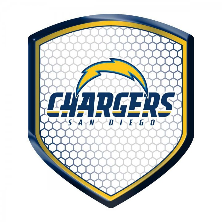 Los Angeles Chargers Shield Reflector