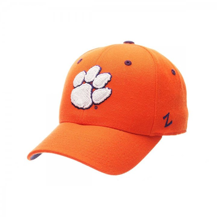 Clemson Tigers Zephyr NCAA Dhs Fitted Hat (Orange)