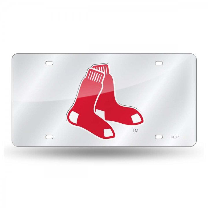 Boston Red Sox MLB Laser Cut Alternate License Plate Tag