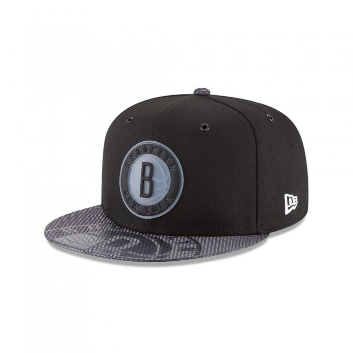 Brooklyn Nets NBA On Court Collection 950 Hat (Black)