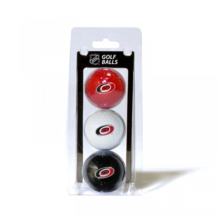 Carolina Hurricanes 3 Pack Golf Balls