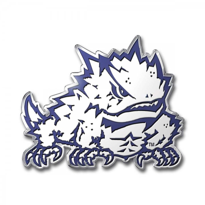 TCU Horned Frogs Color Emblem