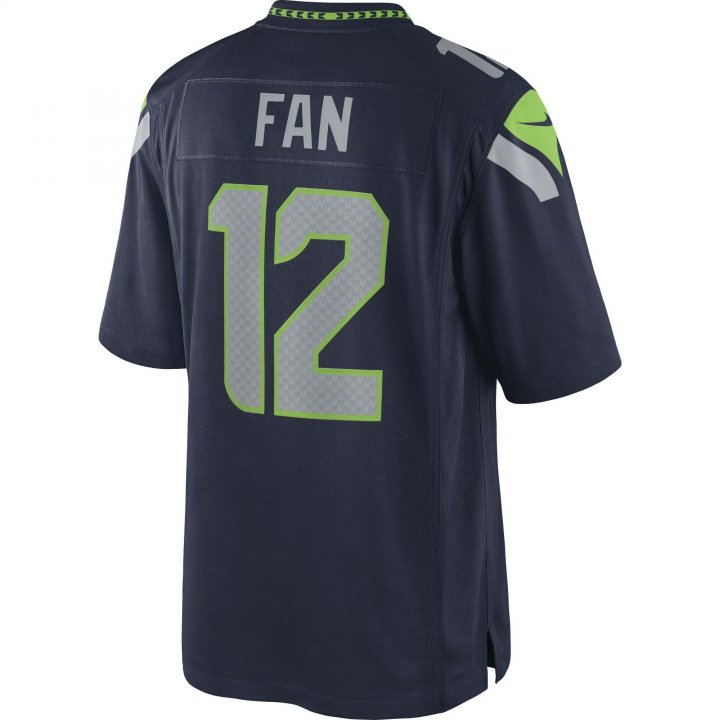 Fan Seattle Seahawks Nike Limited Jersey (Navy)