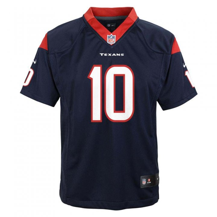 DeAndre Hopkins Houston Texans Youth Nike Game Jersey (Navy)