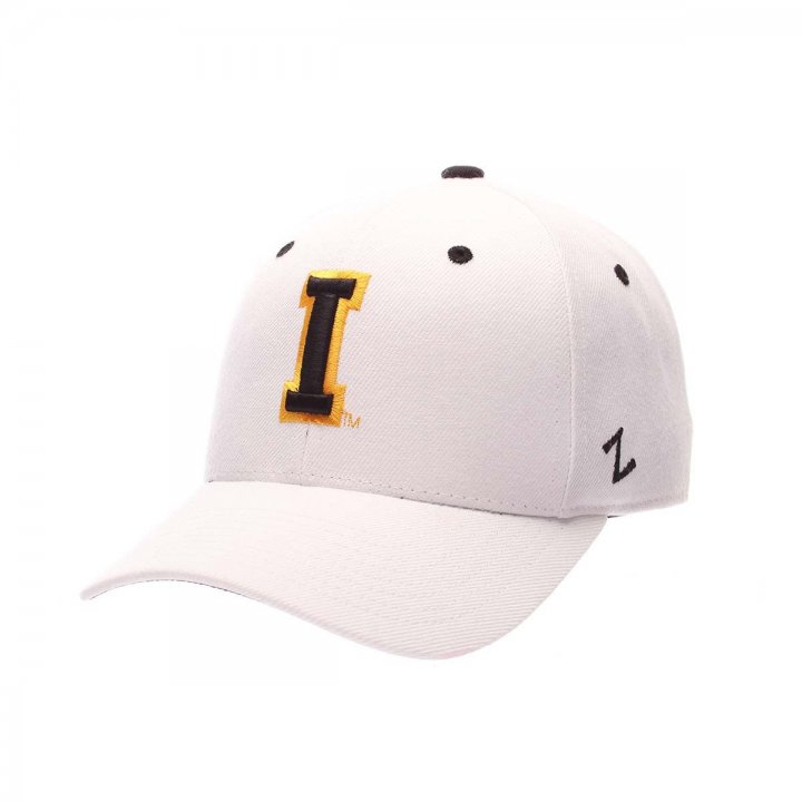 Iowa Hawkeyes Zephyr NCAA Dh Fitted Hat (White)