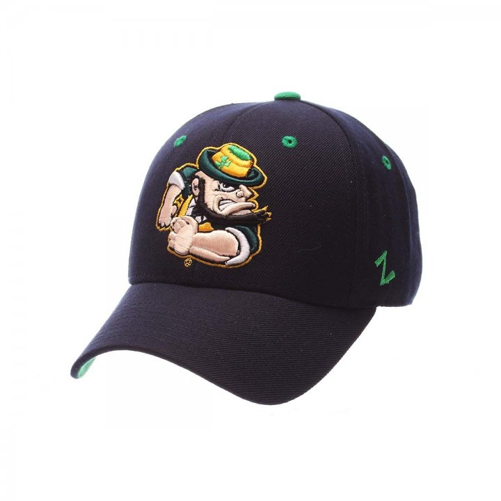 Notre Dame Fighting Irish DHS Fitted Hat (Navy)